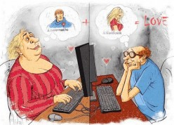 Searching For Love Online to Learn too late the Soul Mate was available at Home!
