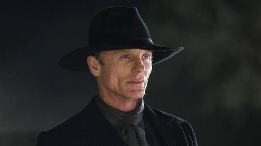 "Ed Harris as ""Man in Black"""