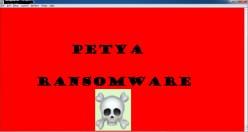 Petya Ransomware Alert!
