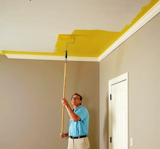 how to fix ceiling cut out for plumbing repairs