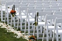 Less guests = less chairs = less decorations = less overall wedding expenses
