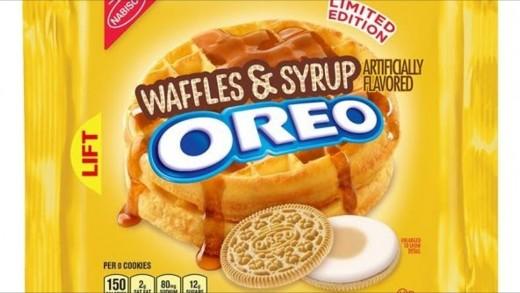 Waffles & Syrup Oreos