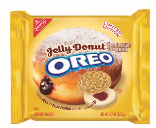 Jelly Donut Oreos
