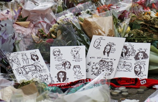 Manchester Arena bombing tribute