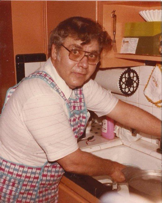 My uncle Pugsley was always in the kitchen making  cheese, sausage and spaghetti from scratch