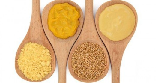 Mustard can be used to ease sinusitis.