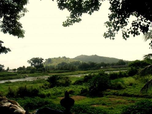 River Cauveri - Gosai Ghat.