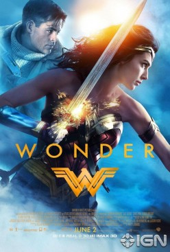 Today's Wonder Woman Emerges: 2017 Movie Review