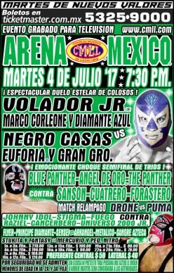 A CMLL Running Diary on the Fourth of July