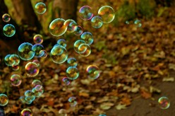 We Live in a Cluster of Bubbles: a Poem