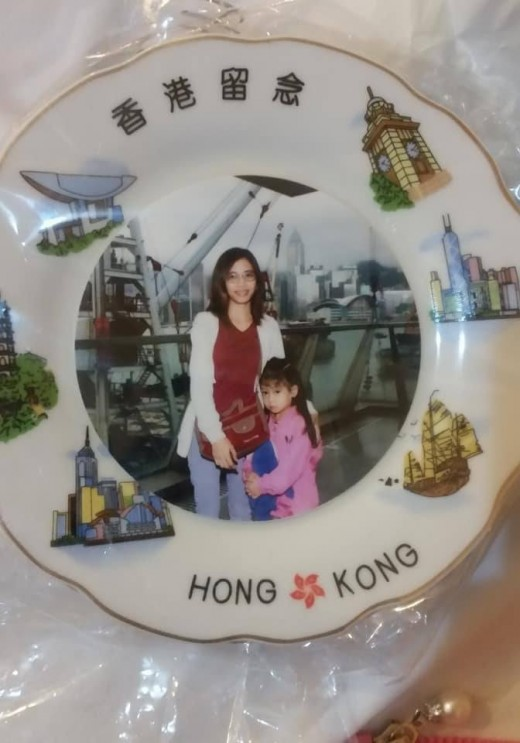 The $200 HKD picture plate lol