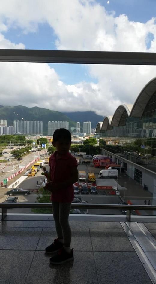 at HK International Airport Terminal 1 Bye HK