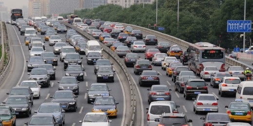By 2011, the number of private vehicles in Beijing was close to 5 million