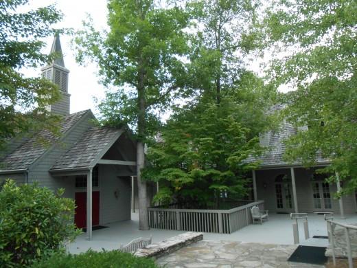 Big Canoe Chapel in the North Georgia Mountains