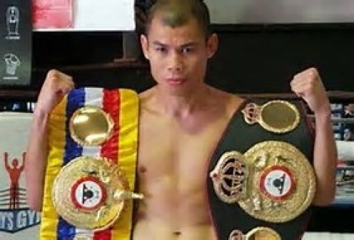 Chris John is the former featherweight boxing world champion and he is from Indonesia.