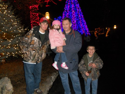 Christmas Vacation with the whole family at Silver Dollar City!