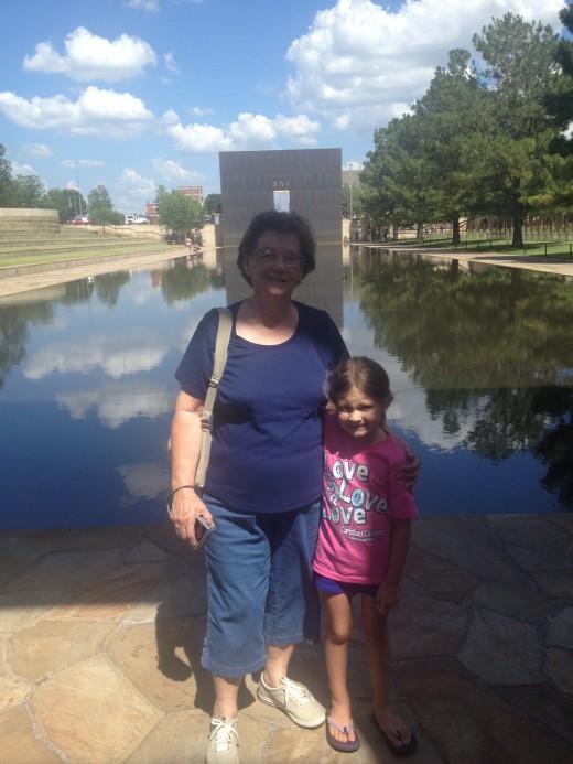Our stop home, the Oklahoma City Memorial