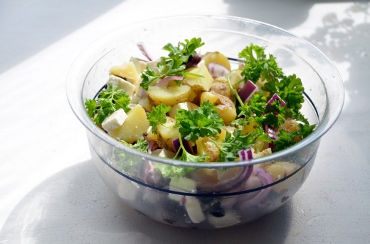 Forget the mayo - use healthy oil and tasty vinegars for the best-ever potato salads.