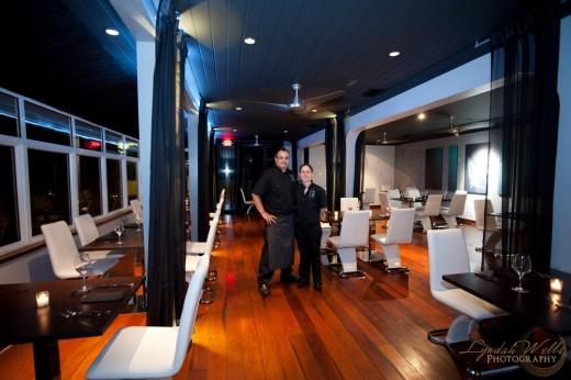 Tim and Rebecca Tibbitts, Flying Fish Bahamas Restaurant