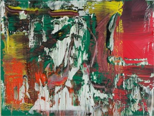 Abstract by Gerhard Richter
