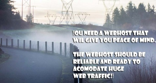 You need a webhost that can handle thousands and millions of web traffic. I recommend bluehost VPS package