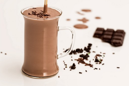 Chocolate without added sugar was seen as a health drink in Europe