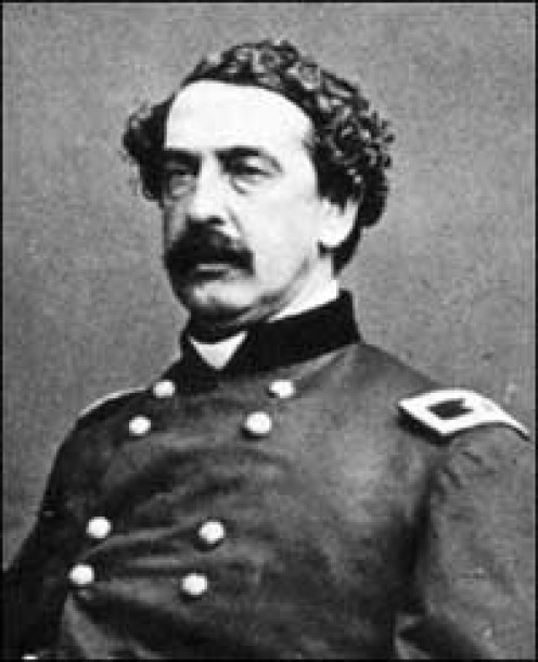 Abner Doubleday, a career  U.S. Army officer and Union  general in the American Civil War.