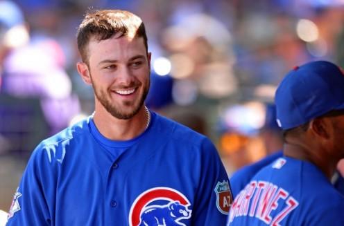 Cubs third baseman Kris Bryant.