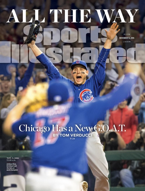 Chicago Cubs make the cover of Sports Illustrated.