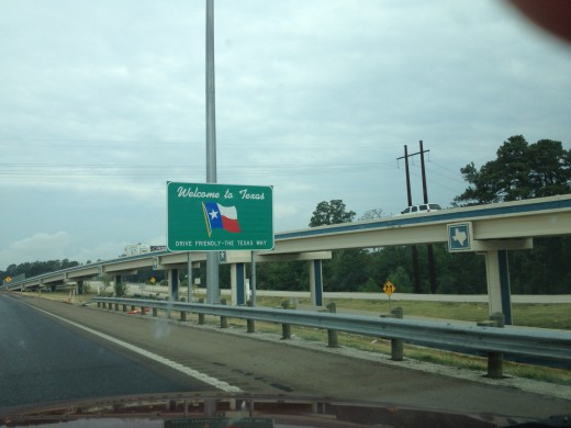 Texas - I know I have better sign pictures but I gave up the search.