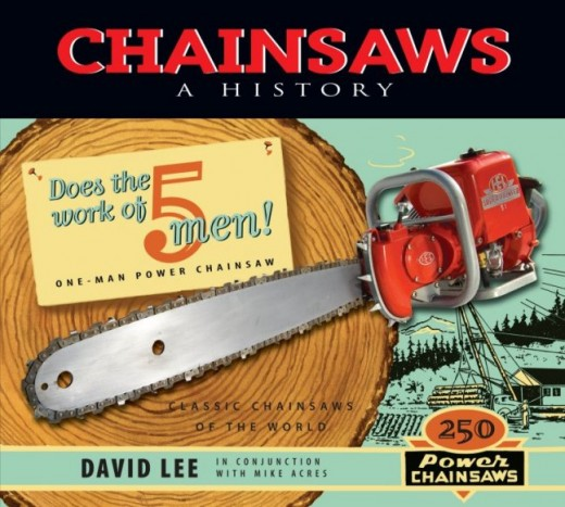 A study of classic chainsaws of the world.