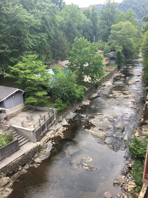 Our View in Gatlingburg from our room!