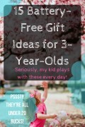 Battery-Free Gift Ideas for 3-Year-Old Girls (That Don't Need Batteries)