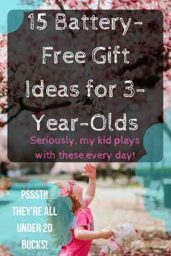Battery-Free Gift Ideas for 3-Year-Olds