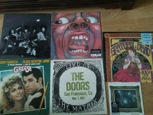 The Doors live at Matrix, Grateful Dead's live album, and the Beatles single (Penny Lane/ Strawberry fields) has had me wait in line at 4:30 on April 22, 2017