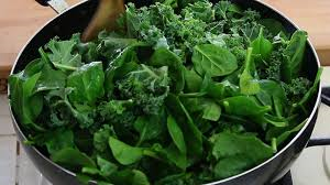 Spinach, kale and dark green leafy vegetables are wonderful for the body when you have gestational diabetes.
