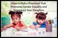 How Your Daughter's Preschool May Hurt Her
