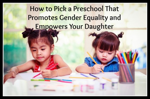 Some preschools perpetuate gender stereotypes, putting girls in narrowly defined roles.