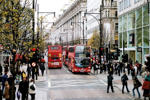 Oxford Street, London, UK