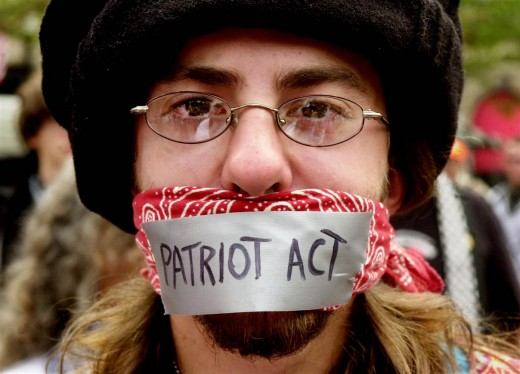 The truest source of terrorism is and always has been the Patriot Act