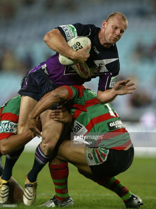 Scott Hill playing for Melbourne Storm. Photo: Getty Images