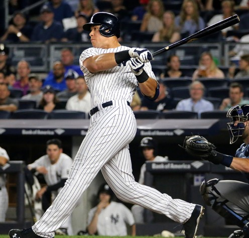 Judgment Year: Aaron Judge on Pace for Greatest Rookie Season Ever