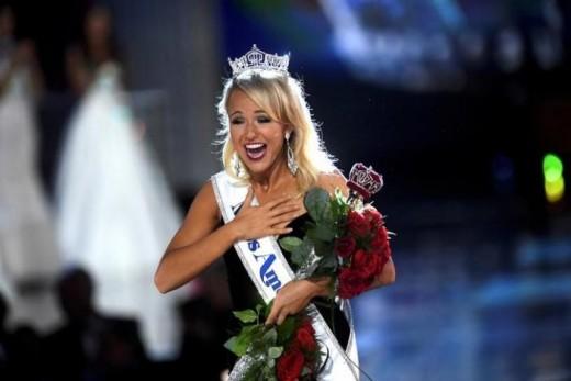 Miss Arkansas crowned Miss America 2017.