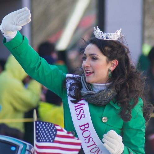 Miss Boston Miss St Patricks Day.