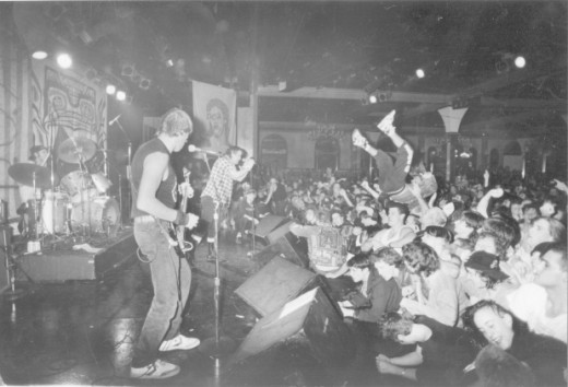 This is the Vancouver Punk scene in 1990