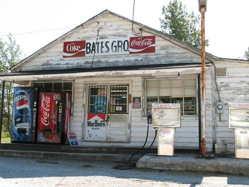 Bates Grocery was one of many rural grocery stores in our nation, but now are precious historical landmarks.