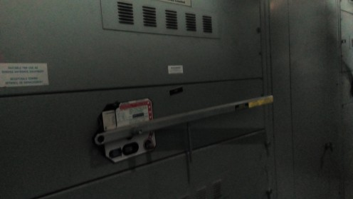Transformer and master switch (entire building)