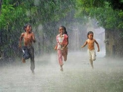 When It Rains, Is It Better to Walk or to Run?: An Engineering Approach