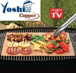 Yoshi Cooper Grill Mat
