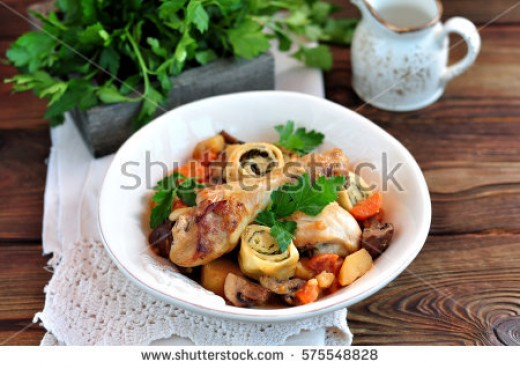 Flavorful, Curried Chicken and Vegetable Stew